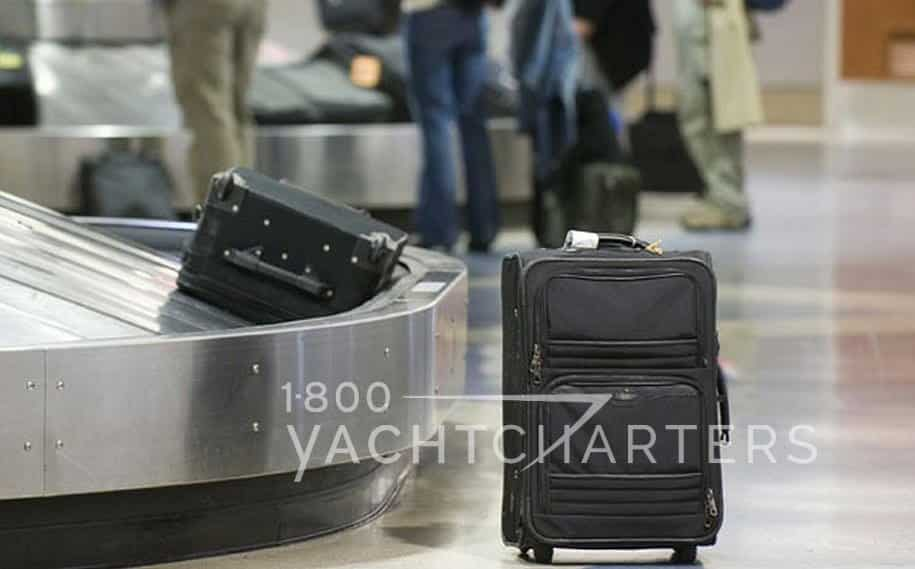 lost luggage private yacht charter travel insurance trip cancellation