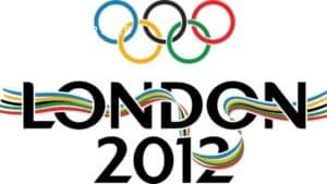 Photograph of london 2012 olympics logo
