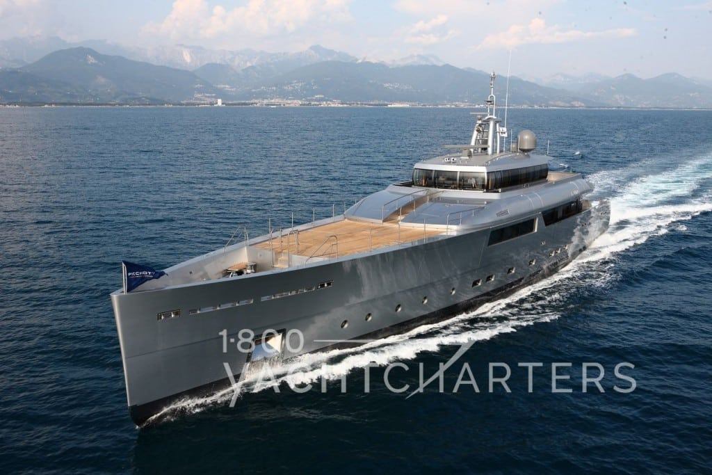 superyacht of the week Exuma eco-friendly green motoryacht