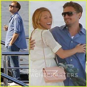 Luxury yacht charter guests Leonardo DiCaprio and Blake Lively join Steven Spielberg