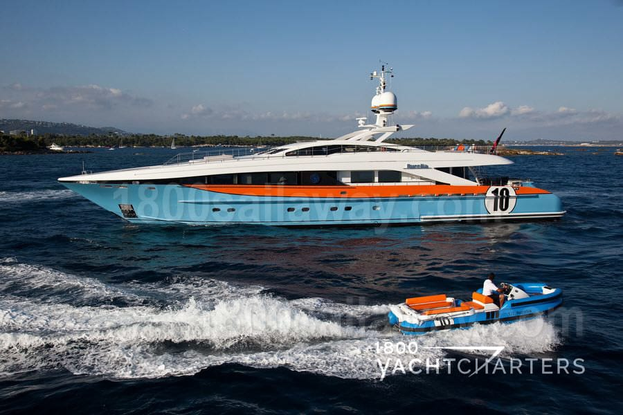 AURELIA - race-car inspired motoryacht Formula 1 profile