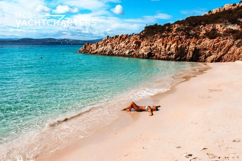 Photograph of Cala Soraja Island of Spargi Sardinia Italy