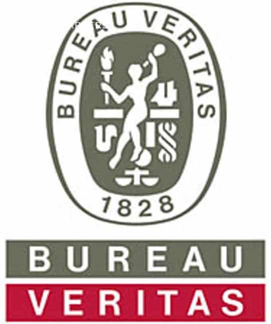 Bureau Veritas logo. Since 1828.