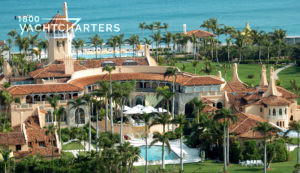 Yacht Awards location - aerial photograph of Mar-a-Lago estate in Palm Beach, Florida
