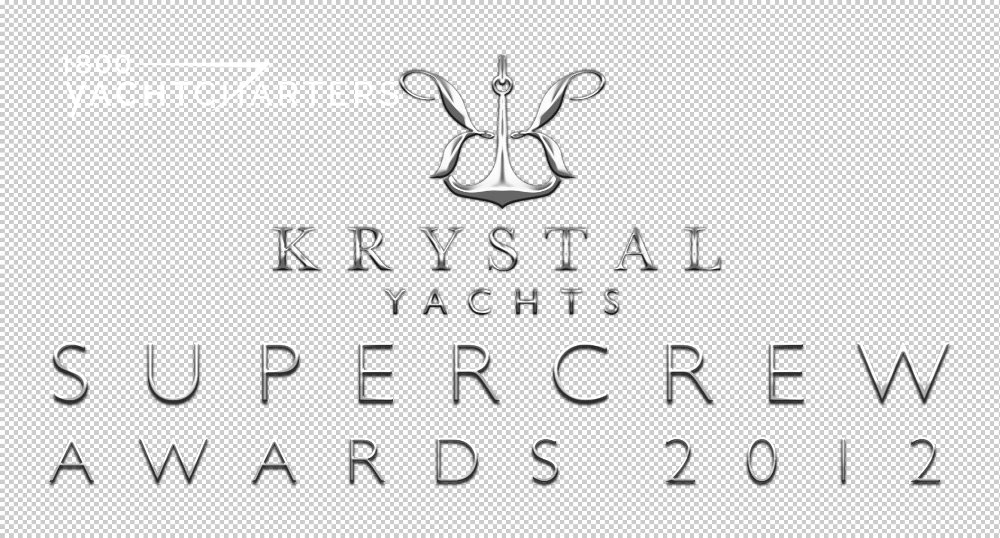 Photograph of logo for Krystal Yachts Supercrew Awards 2012
