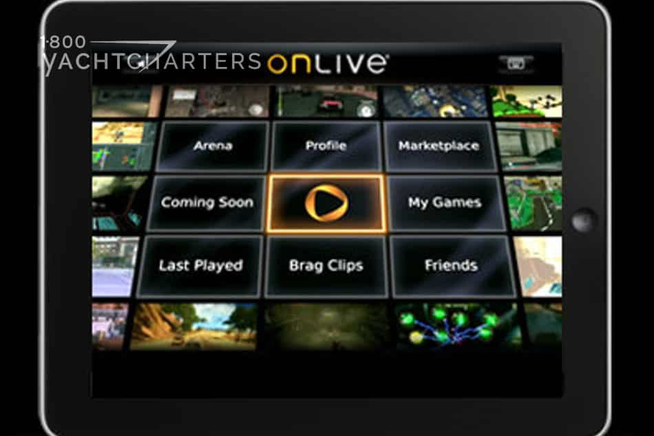 Photograph of the face of an OnLive Player.