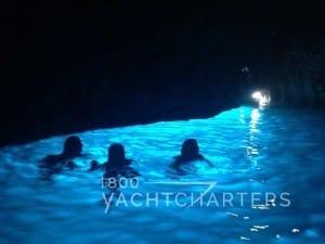 Blue Grotto Amalfi Coast Italian Riviera luxury yacht charter vacation mediterranean yacht charter ado