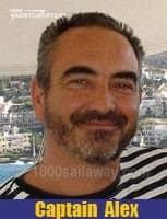 Photograph of smiling face of Captain Alexandre J. MATSAKIS