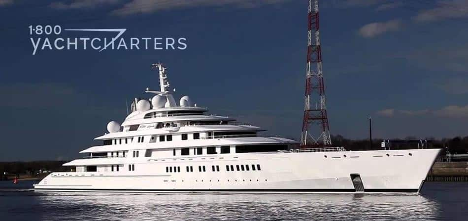 Yacht Azzam World S Largest Superyacht 1 800 Yacht Charters 1