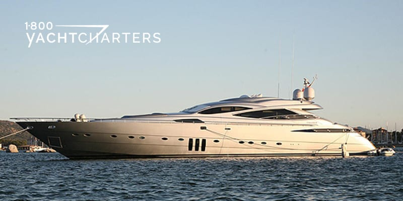 Profile photograph of motoryacht MISTRAL 55. Solid white with black angled windows. Looks fast and sleek.