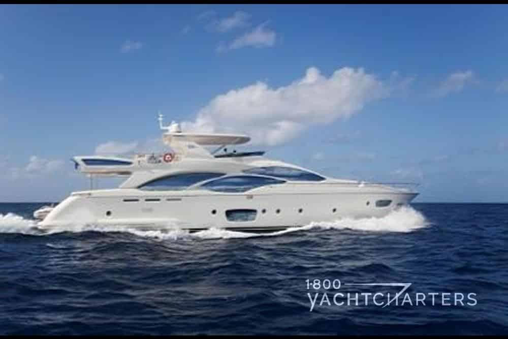 Andreika yacht profile underway