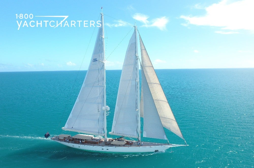 ATHOS under sail 1800yachtcharters