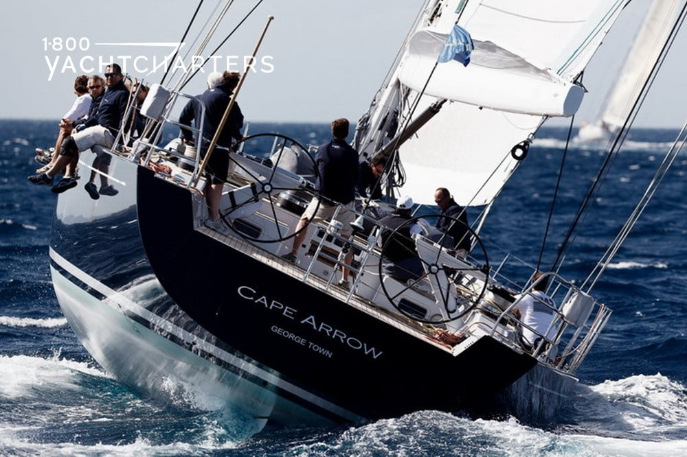 CAPE ARROW luxury sailboat 1800yachtcharters