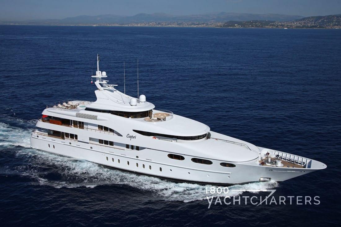 CAPRI yacht underway