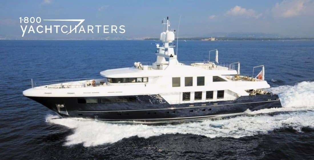 CLICIA running 1800yachtcharters