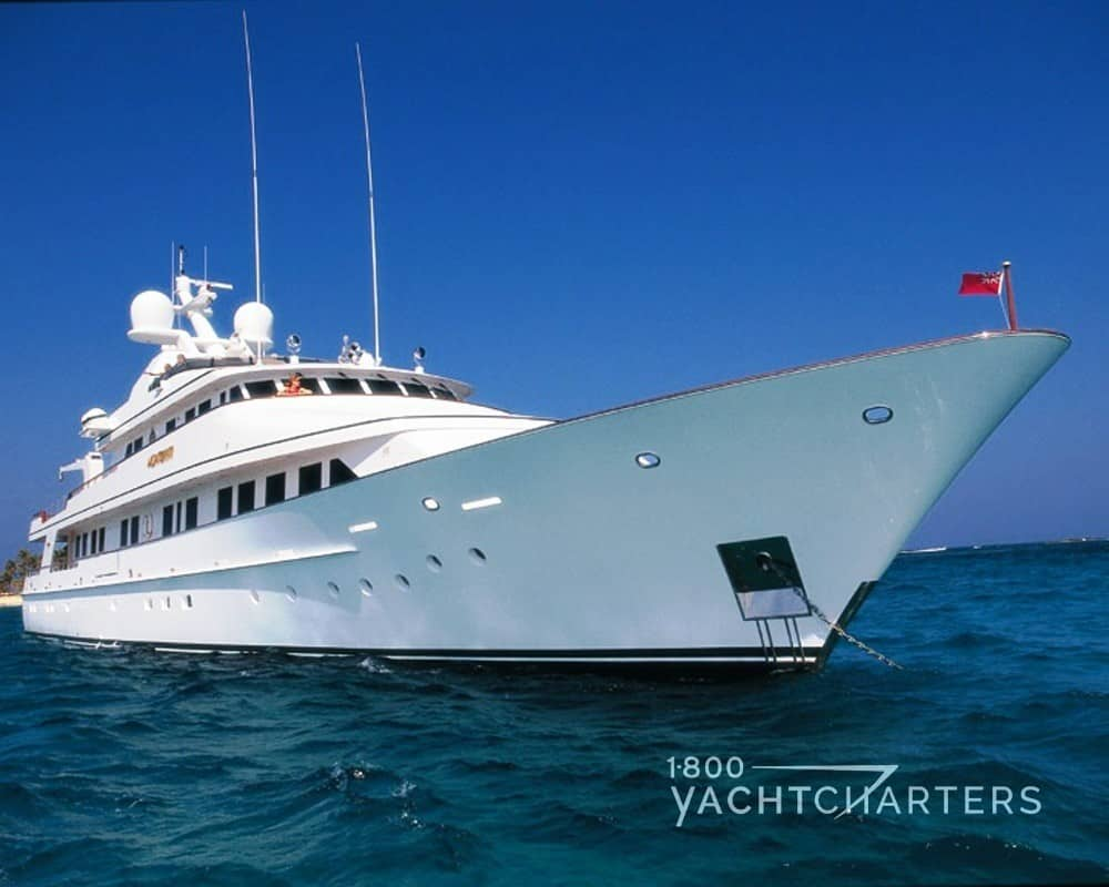 CONSTANCE motoryacht bow profile