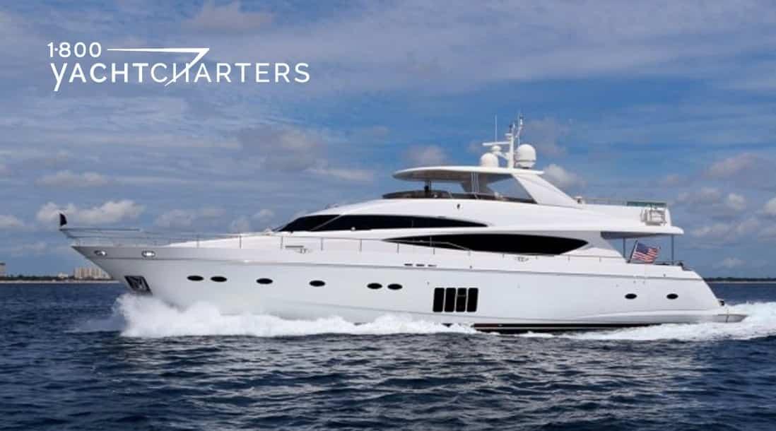 Cristobal yacht underway