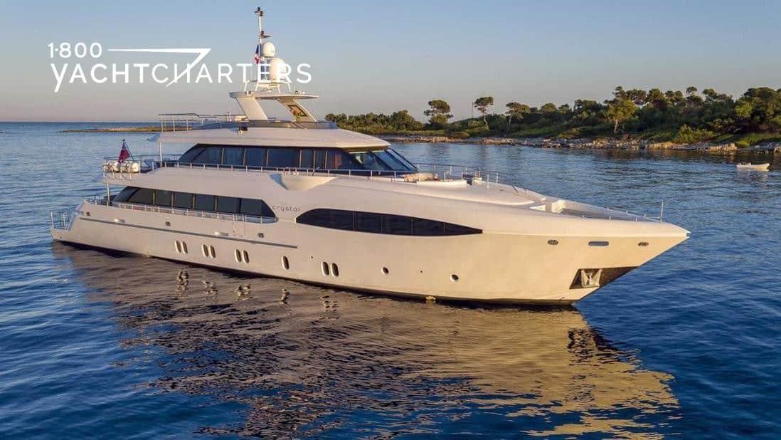 Luxury yacht CRYSTAL profile