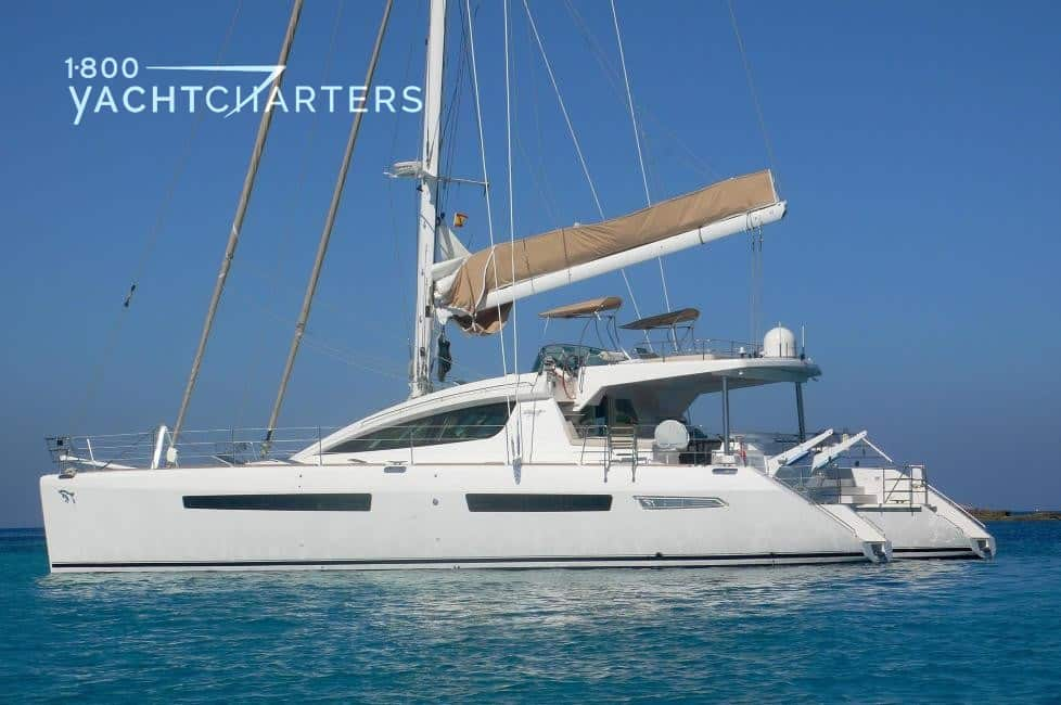 catamaran sailboat profile