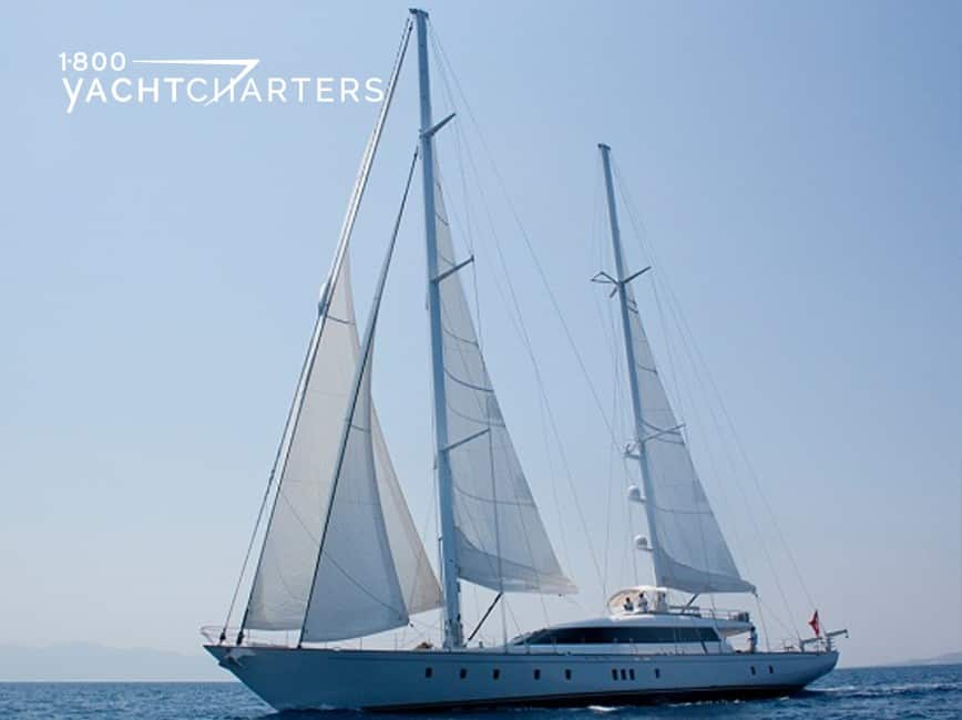 Photograph of GLORIOUS II sailboat yacht charter underway