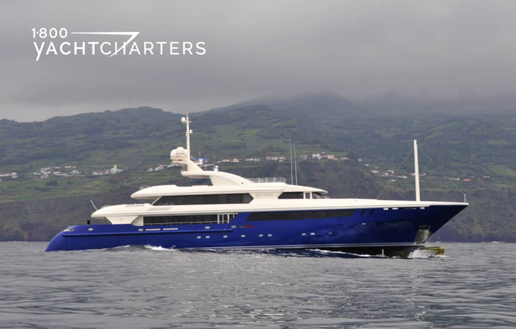 Photograph of superyacht MARY JEAN II