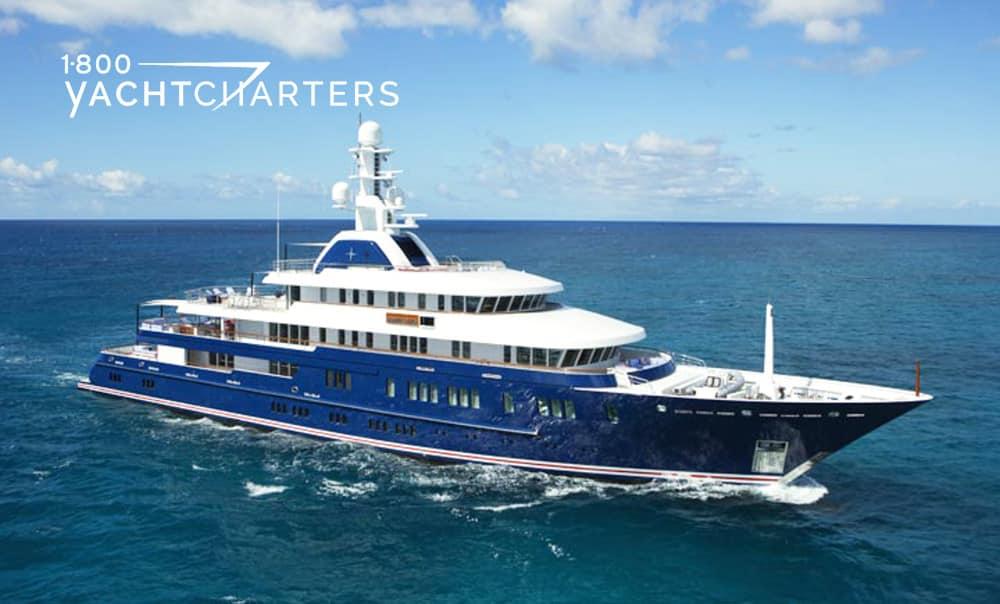 MIA RAMA yacht underway