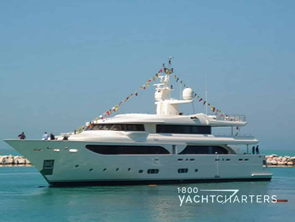 HANA luxury yacht charter profile