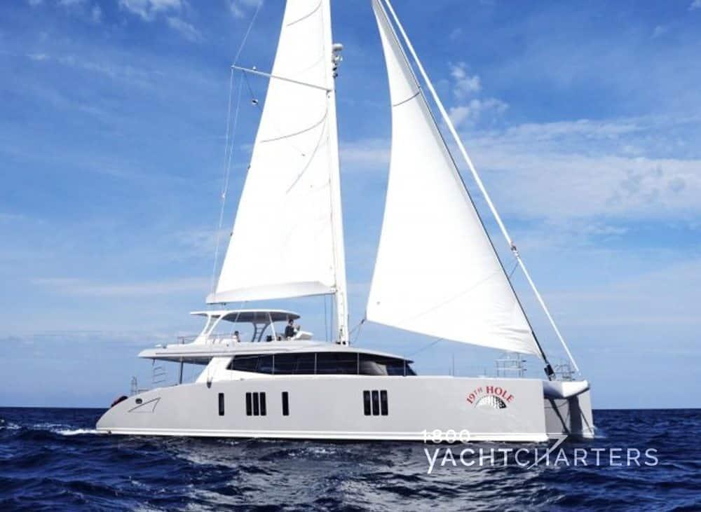 19TH HOLE catamaran profile