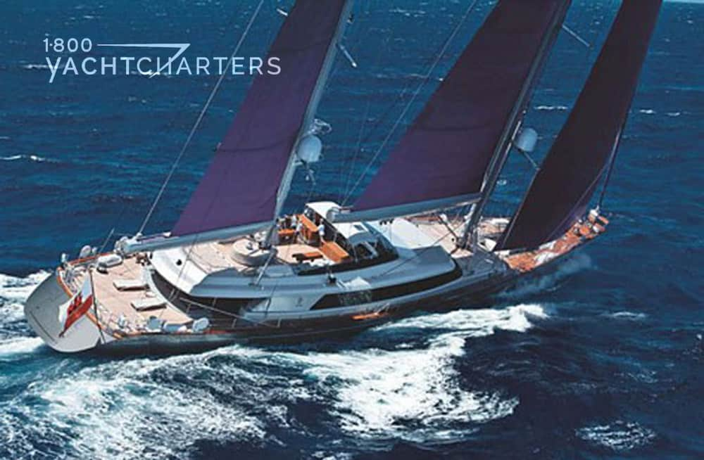BARACUDA VALLETA under sail 1800yachtcharters