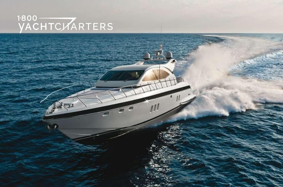 Photo of fast yacht named TITTI underway