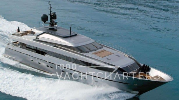 mediterranean yacht charter scorpion san lorenzo with sea terraces