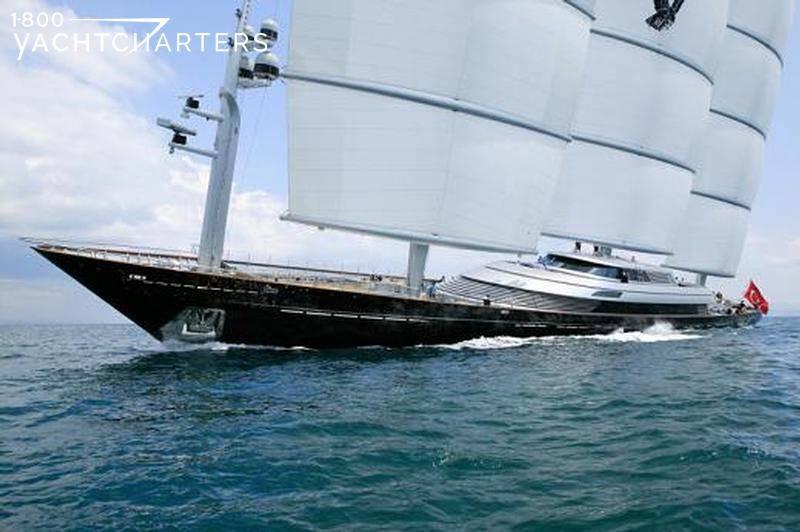 MALTESE FALCON under sail