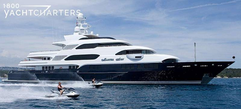 Martha Ann superyacht underway