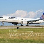 caribbean yacht charter clients can now fly to St. Lucia with United Airlines