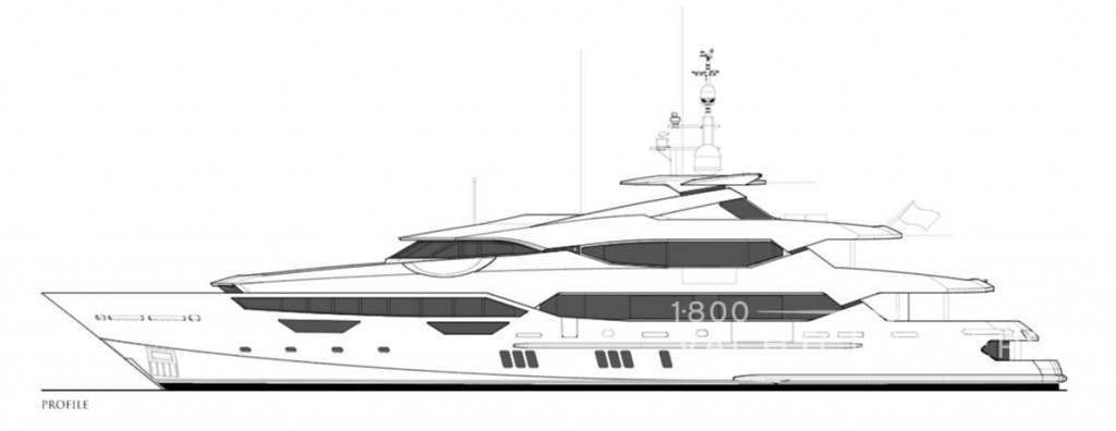 Line Drawing Yacht : Princess avk motor yacht charter charters