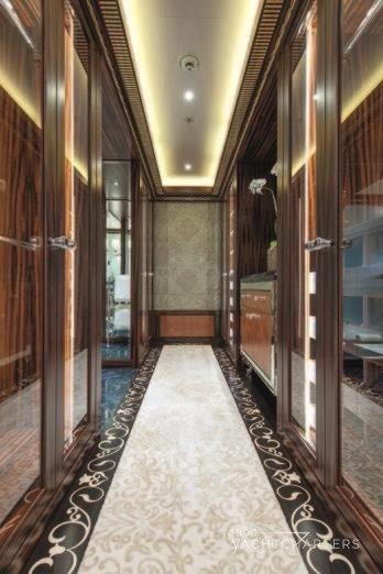 Luxury Yacht Engine Room: SOLANDGE Yacht Charter 1-800 Yacht Charters