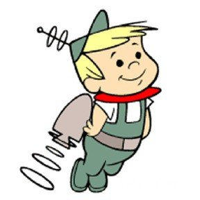 elroy jetson cartoon boy wearing jetpack and flying upward