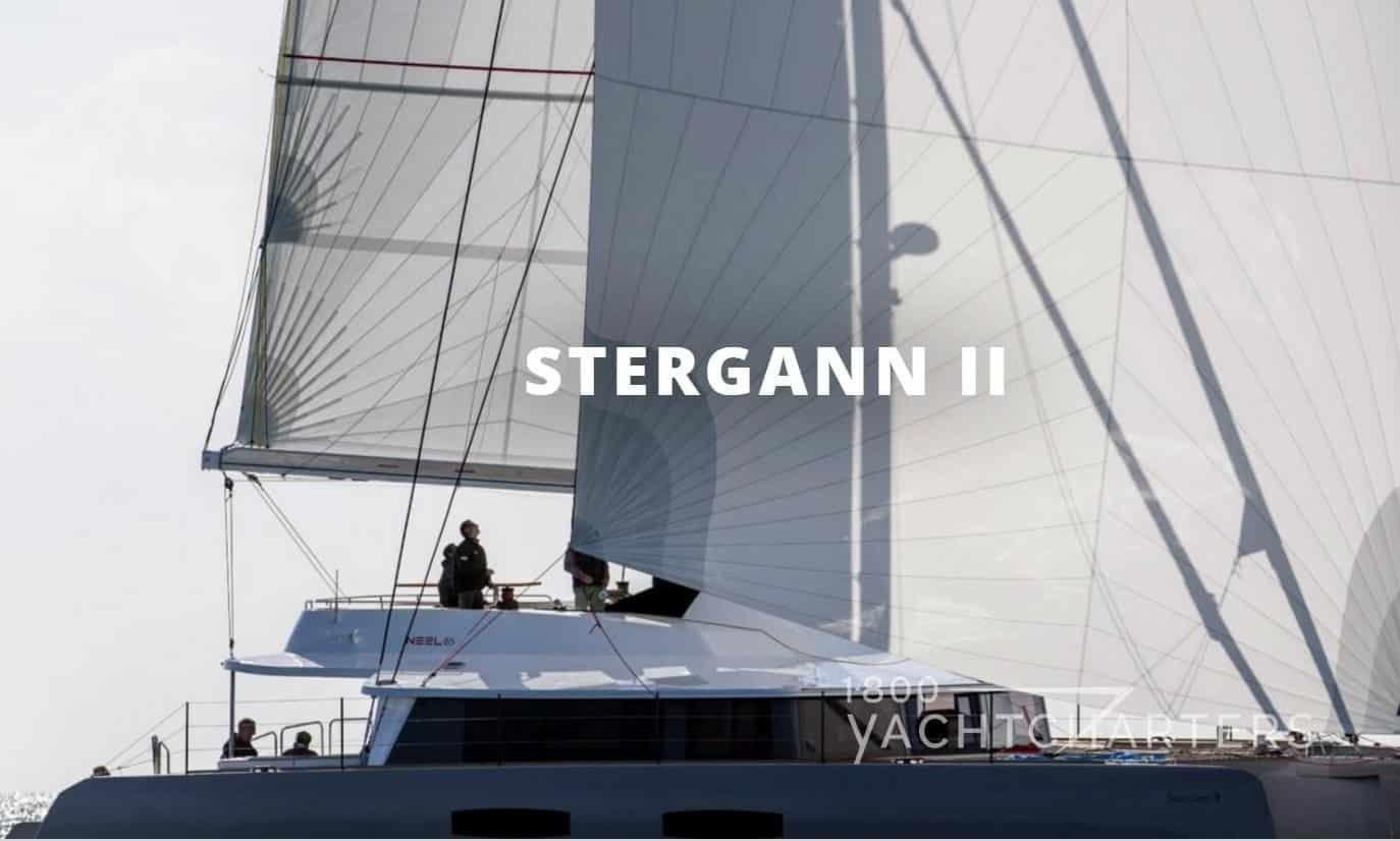Trimaran sailboat profile