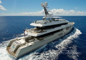 Superyacht Big Fish aerial