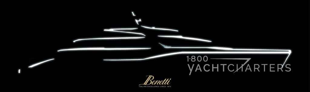 Line drawing of yacht