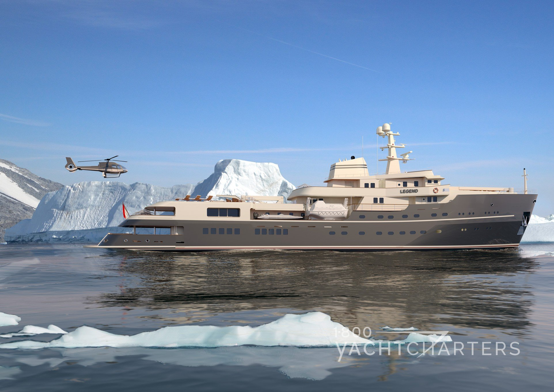 Expedition yacht LEGEND profile
