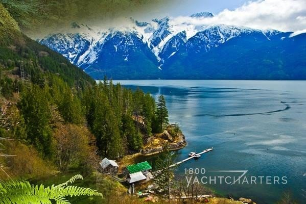 Photograph of Bute Inlet in British Columbia