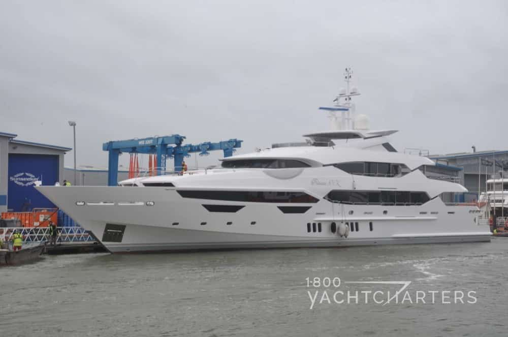 Princess AVK superyacht in water