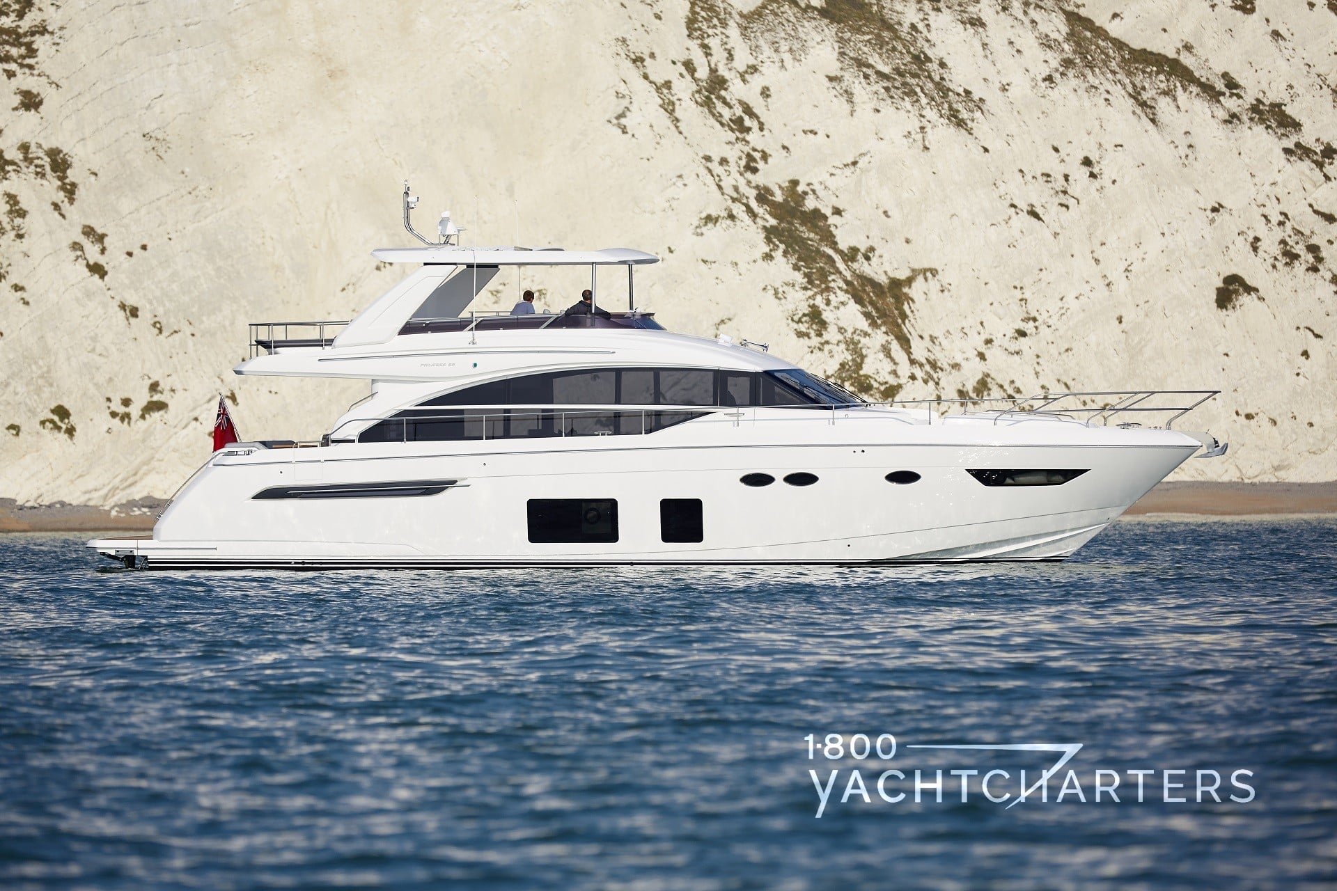 Yacht side view