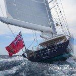 Stern - under sail