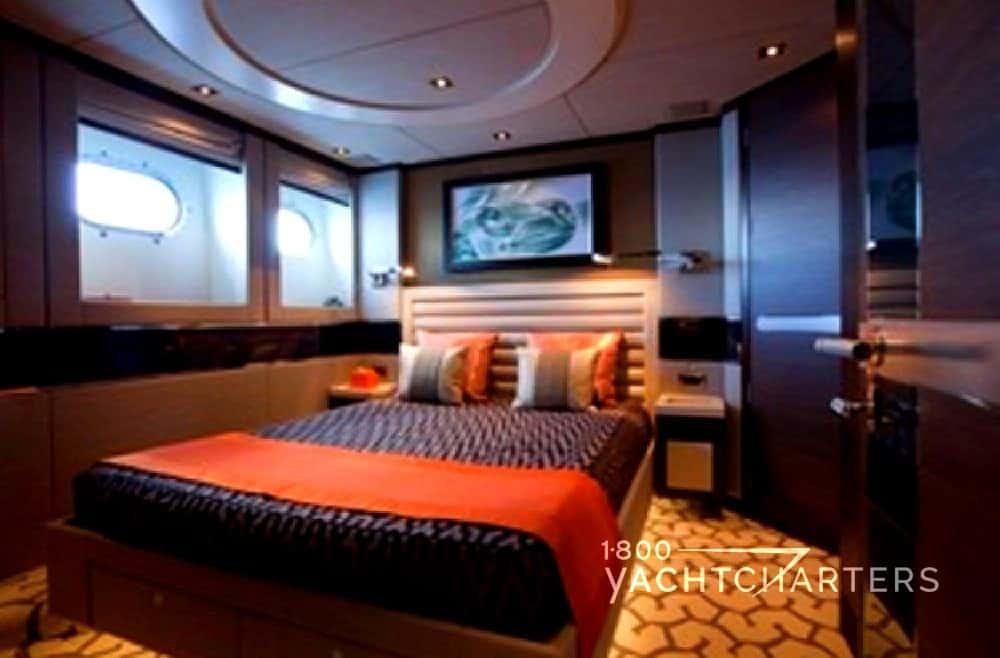 Yacht charter AURELIA superyacht double stateroom