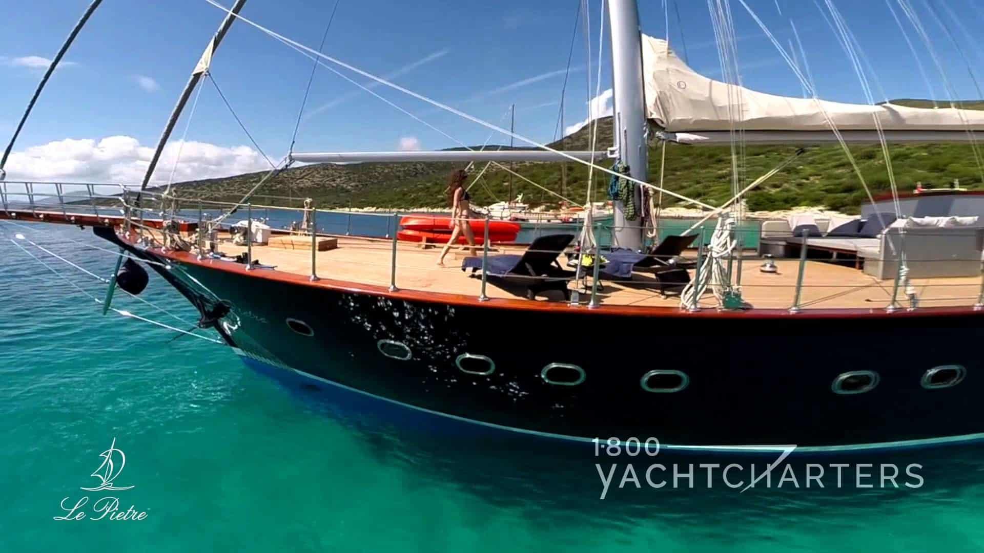 Sailboat Le Pietre yacht charter Turkey Bodrum