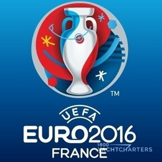 Logo for UEFA Euro2016 Soccer Tournament