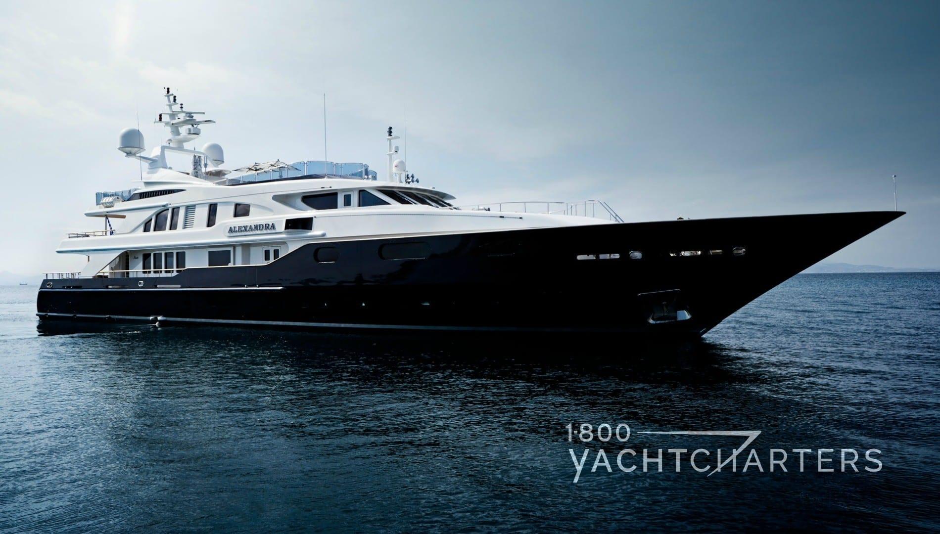 ALEXANDRA yacht charter Benetti superyacht
