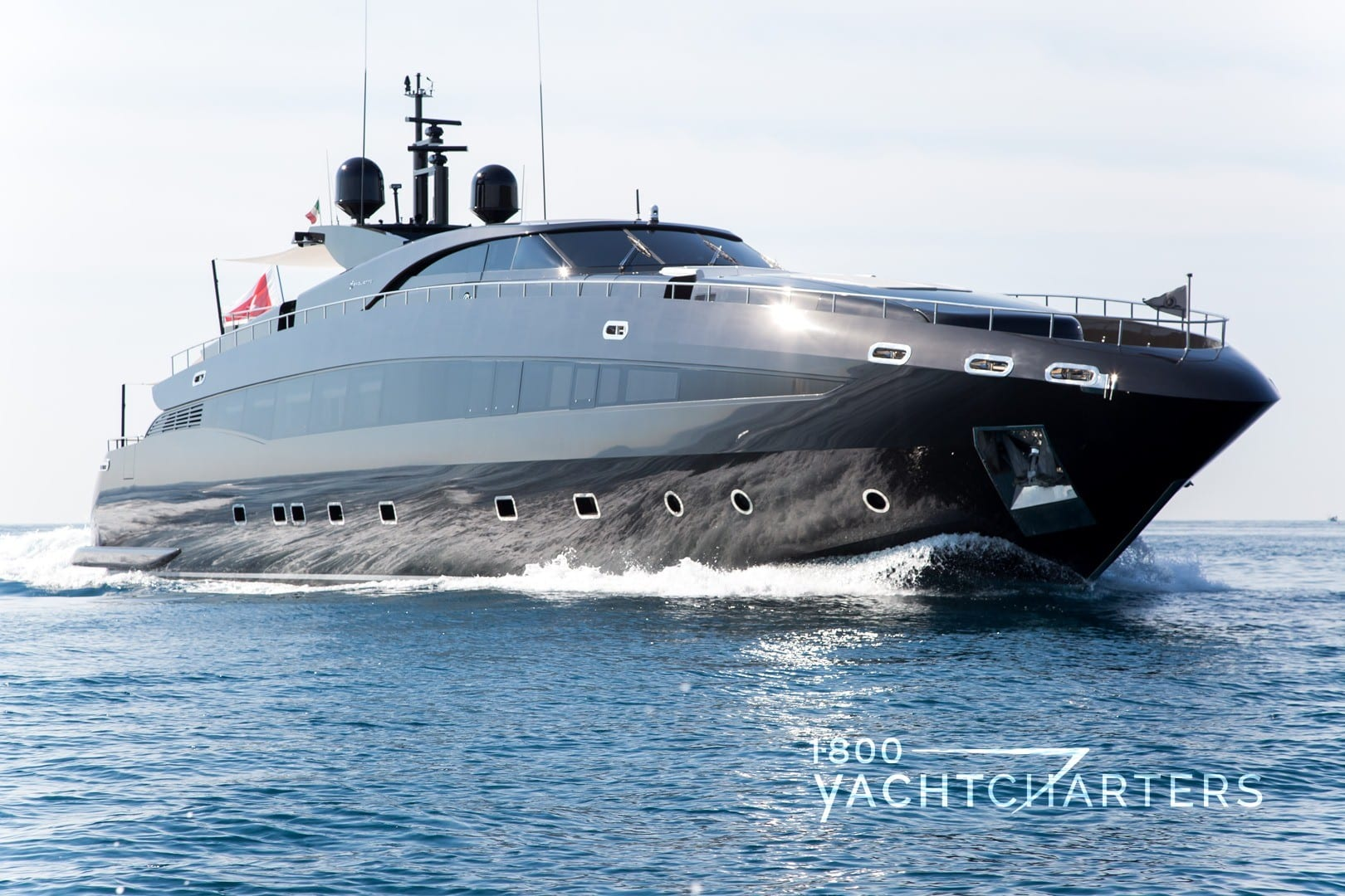 ABILITY Baglietto superyacht yacht charter vessel